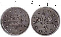 Изображение Монеты Турция 2 куруша 1293 Серебро XF