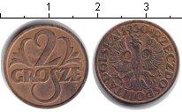 Изображение Монеты Польша 2 гроша 1930 Медь XF