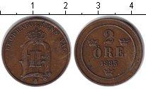 Изображение Монеты Швеция 2 эре 1883 Медь XF