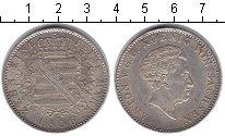 Изображение Монеты Саксония 1 марка 1856 Серебро XF