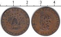 Изображение Монеты Великобритания 1 фартинг 1795 Медь XF Токен