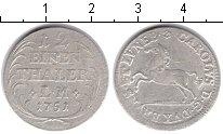 Изображение Монеты Брауншвайг-Вольфенбюттель 1/12 талера 1751 Серебро VF