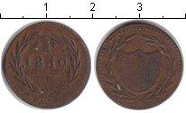 Изображение Монеты Франкфурт 1 крейцер 1819 Медь VF токен