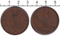 Изображение Монеты Ирландия 1 пенни 1942  XF