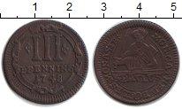 Изображение Монеты Мюнстер 3 пфеннига 1748 Медь XF