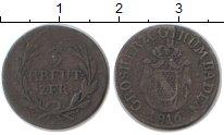 Изображение Монеты Баден 3 крейцера 1816 Серебро XF Карл Людвиг Фридрих