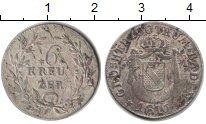 Изображение Монеты Баден 6 крейцеров 1816 Серебро XF Карл Людвиг Фридрих