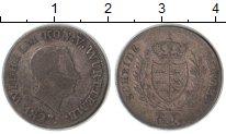 Изображение Монеты Вюртемберг 6 крейцеров 1827 Серебро VF