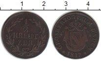Изображение Монеты Баден 1/2 крейцера 1817 Медь VF