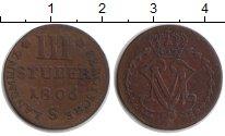 Изображение Монеты Берг 3 стюбера 1806 Серебро XF Максимилиан Иосиф IV
