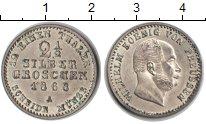 Изображение Монеты Пруссия 2 1/2 гроша 1868 Серебро XF А. Вильгельм