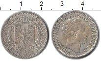 Изображение Монеты Пруссия 1/6 талера 1825 Серебро XF Фридрих Вильгельм II