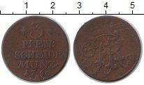 Изображение Монеты Пруссия 3 пфеннига 1760 Медь XF Фридрих II
