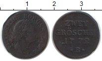 Изображение Монеты Пруссия 2 гроша 1772 Серебро VF