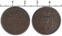 Изображение Монеты Рейсс-Оберграйц 3 пфеннига 1824 Медь XF