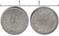 Изображение Монеты Франкфурт 1 крейцер 1861 Серебро XF