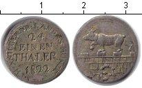 Изображение Монеты Анхальт-Бернбург 1/24 талера 1822 Серебро VF