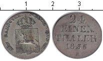 Изображение Монеты Ганновер 1/24 талера 1835 Серебро XF