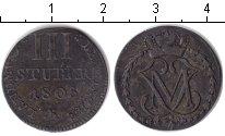 Изображение Монеты Берг 3 стюбера 1805 Серебро XF