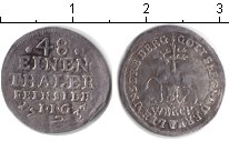 Изображение Монеты Штольберг 1/48 талера 1733 Серебро XF