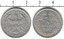 Изображение Монеты Веймарская республика 1 марка 1925 Серебро XF F