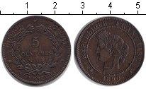 Изображение Монеты Франция 5 сантимов 1890 Медь XF