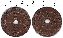 Изображение Монеты Индокитай 1 сантим 1896  XF
