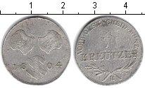 Изображение Монеты Австрия 6 крейцеров 1804 Серебро XF Франц II
