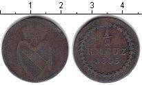Изображение Монеты Баден 1/2 крейцера 1805 Медь XF Карл Фридрих