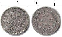Изображение Монеты Финляндия 25 пенни 1873 Серебро XF