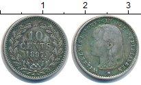 Изображение Монеты Нидерланды 10 центов 1897 Серебро XF