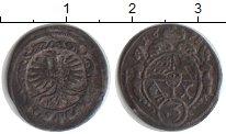 Изображение Монеты Вюртемберг 3 пфеннига 1698 Медь