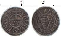 Изображение Монеты Саксония 1 пфенниг 1661 Серебро VF