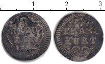 Изображение Монеты Франкфурт 1 крейцер 1784 Серебро XF