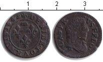 Изображение Монеты Франция 1 двойной торнуа 1649 Медь