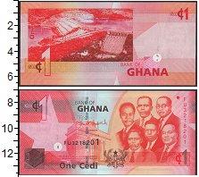 Изображение Банкноты Гана 1 седи 2014  UNC