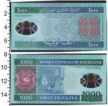 Изображение Банкноты Мавритания 1.000 угий 2014  UNC Верблюд