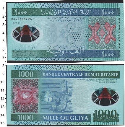 Картинка Боны Мавритания 1.000 угий  2014