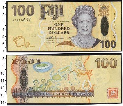Картинка Боны Фиджи 100 долларов  0