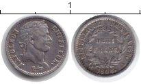 Изображение Монеты Франция 1/2 франка 1808 Серебро XF Наполеон I