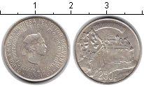 Изображение Монеты Люксембург 250 франков 1963 Серебро UNC-