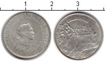 Монета Люксембург 250 франков Серебро 1963 UNC- фото