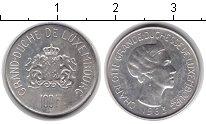 Изображение Монеты Люксембург 100 франков 1963 Серебро XF Шарлотта