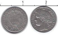 Изображение Монеты Франция 1 франк 1872 Серебро VF