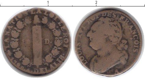 Картинка Монеты Франция 12 денье  1792