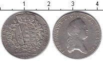 Изображение Монеты Саксония 1 талер 1774 Серебро XF Фридрих Август III