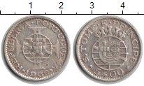 Изображение Монеты Сан-Томе и Принсипи 5 эскудо 1962 Серебро XF