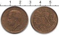 Изображение Монеты Монако 50 франков 1950  XF Ренье III