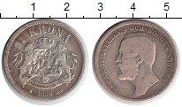 Изображение Монеты Швеция 1 крона 1898 Серебро VF Оскар II
