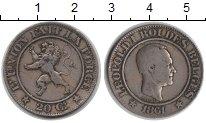 Изображение Монеты Бельгия 20 сантимов 1861 Медно-никель VF